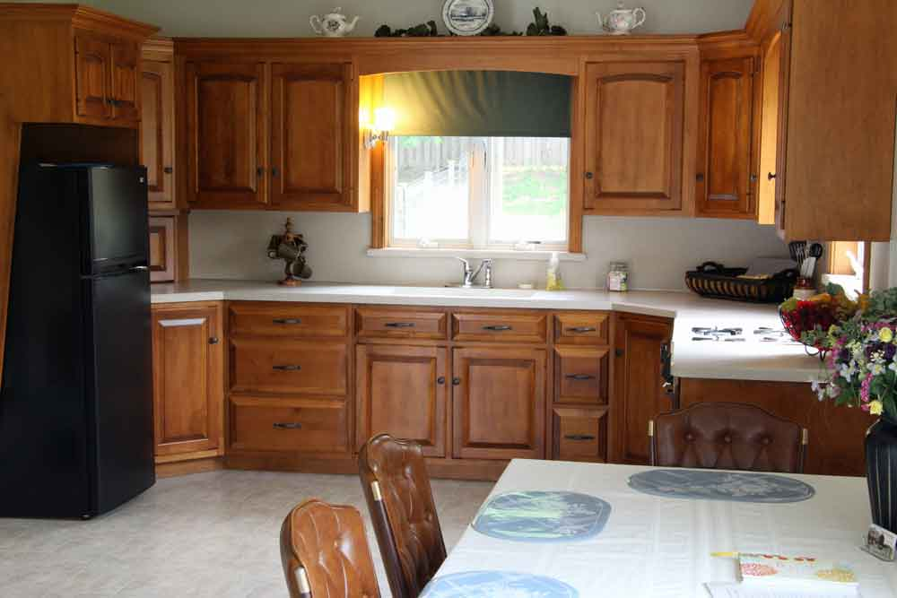 Amish BnB kitchen