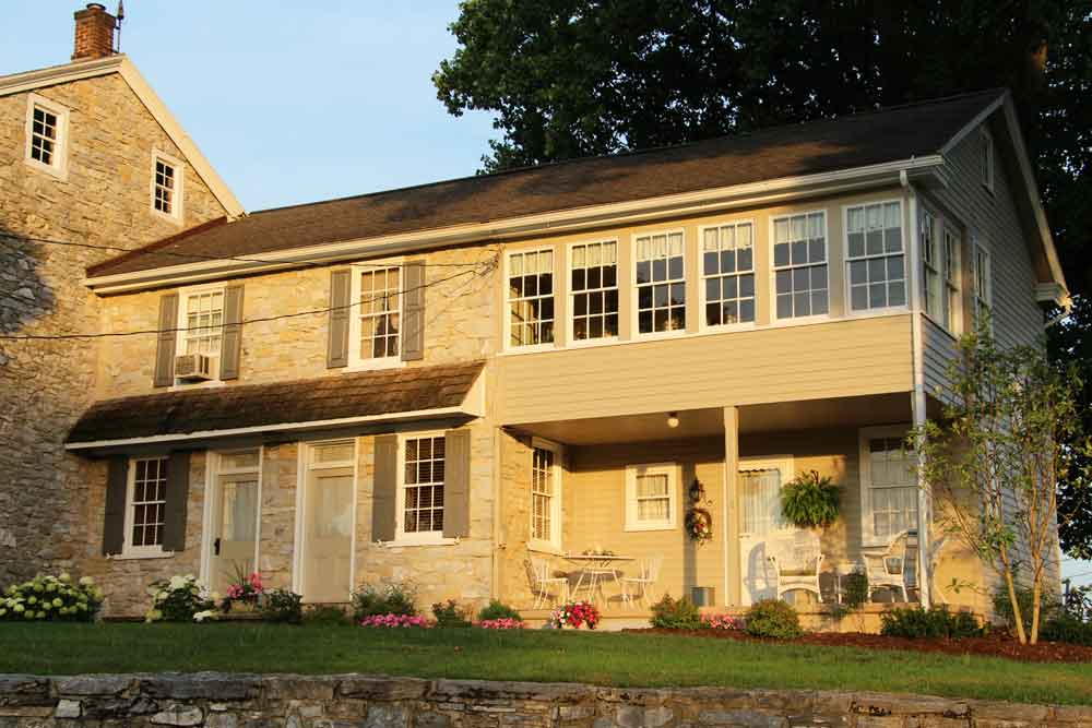 historic famhouse rental in Lancaster PA